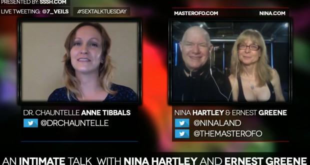 Nina Hartley, Earnest Greene, Chauntelle Tibbals SexTalkTuesday